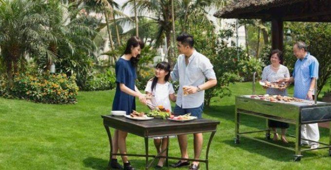 Khám phá vườn BBQ tại TSG Lotus Sài Đồng